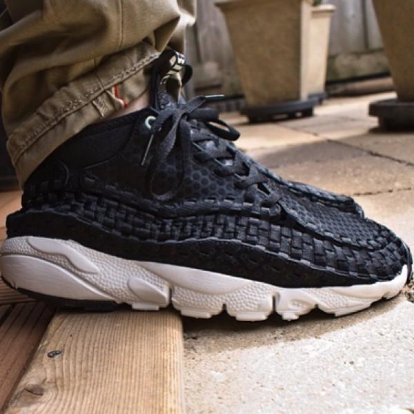 Nike Air Woven Footscape Chukka Black 3HC - Ouwepaparazzi