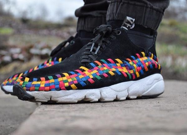 Nike Footscape Woven Chukka Rainbow - Jannick Prs