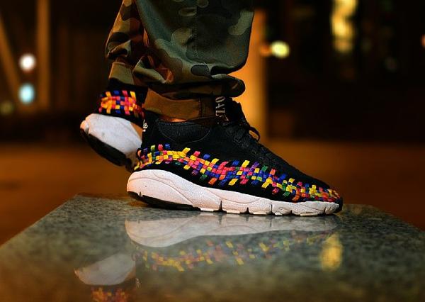 Nike Footscape Woven Chukka Rainbow - Whyjack3000