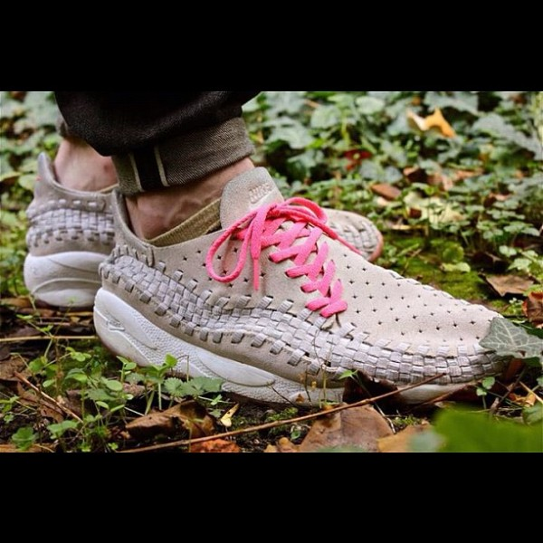 Nike Footscape Woven Granite Pink - Smikeyallright