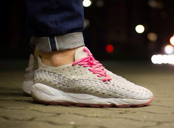 Nike Footscape Woven Granite Pink - Xheartandsolex
