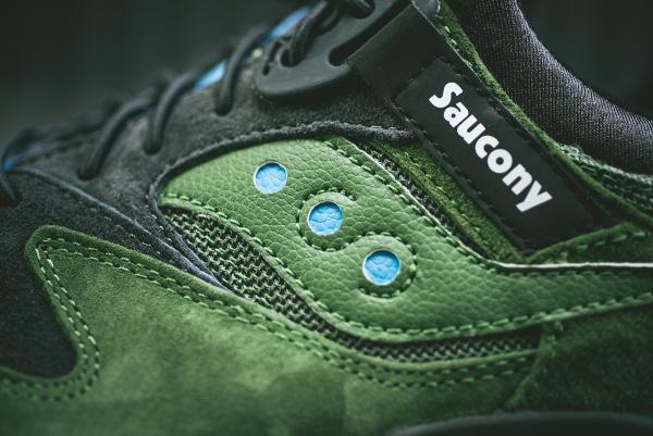 Saucony Grid 9000 Olive Charcoal (4)