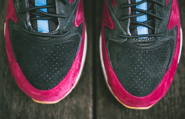 Saucony Grid 9000 Red Charcoal (5)