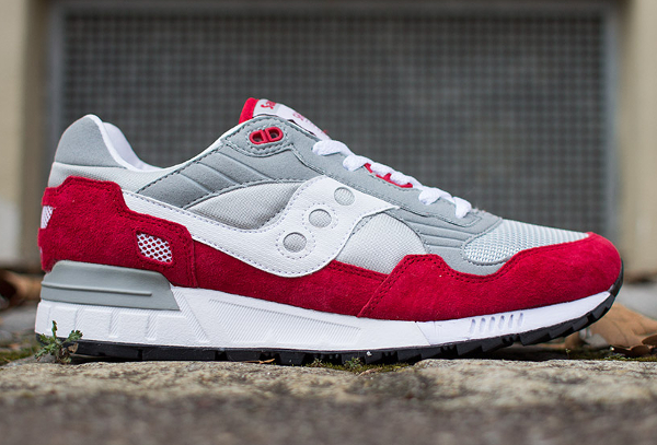 Saucony Shadow 5000 Grey Red (2)