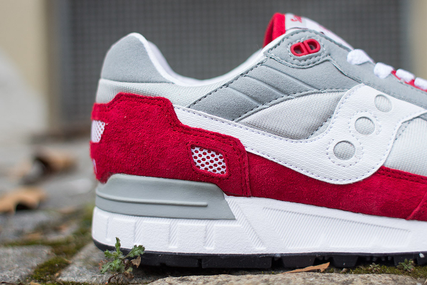 Saucony Shadow 5000 Grey Red (3)