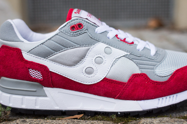 Saucony Shadow 5000 Grey Red (4)