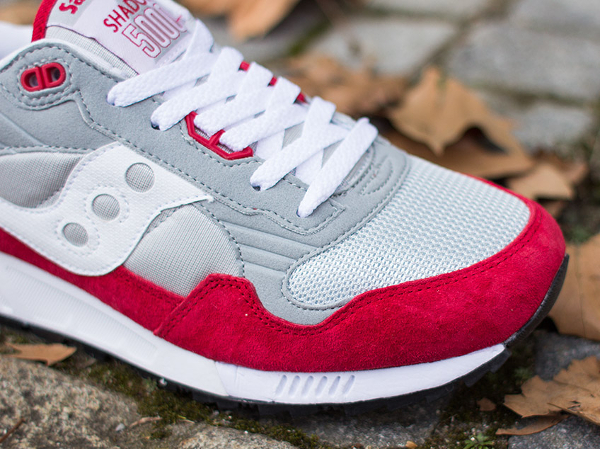 Saucony Shadow 5000 Grey Red (5)