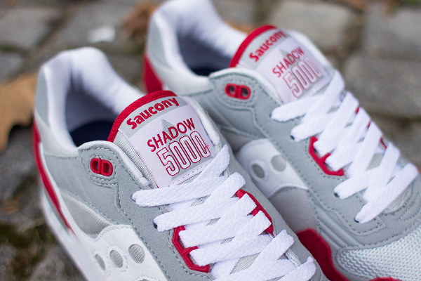 Saucony Shadow 5000 Grey Red (6)