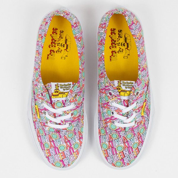 Vans Authentic x Beatles All You Need Is Love (1)