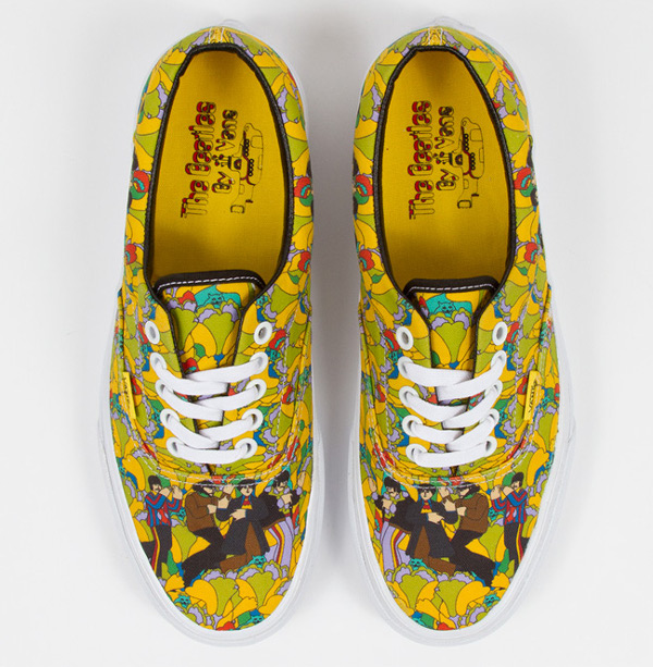 Vans Era x Beatles Garden True White (1)
