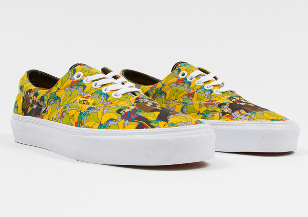 Vans Era x Beatles Garden True White (2)