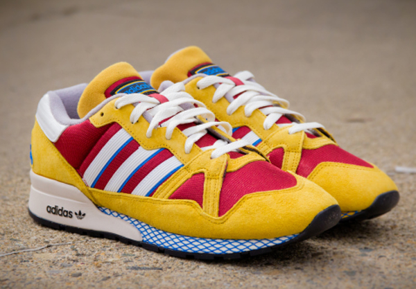 Adidas ZX 710 Yellow Red (3)