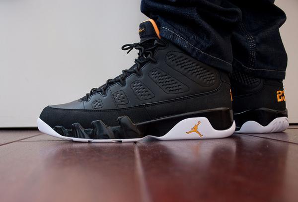 Air Jordan 9 Black Citrus - Rooog Knows