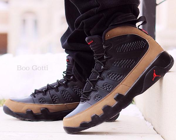 Air Jordan 9 Olive - Boo_gotti