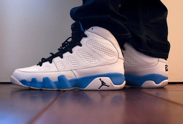 Air Jordan 9 Powder Blue - Rooog Knows