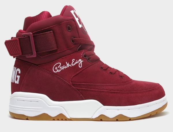 Ewing 33 Hi Burgundy
