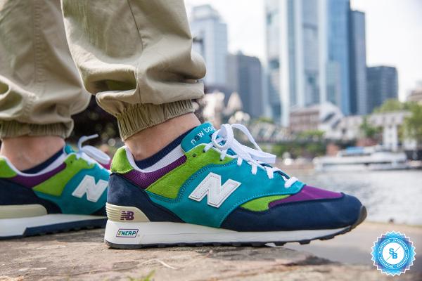 New Balance 577 x Sneakersnstuff Round 3 - Patentblau