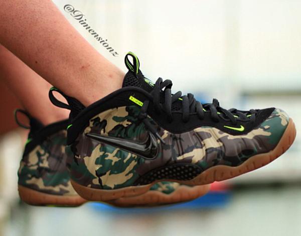 Nike Air Foamposite Camo -Dimensionz