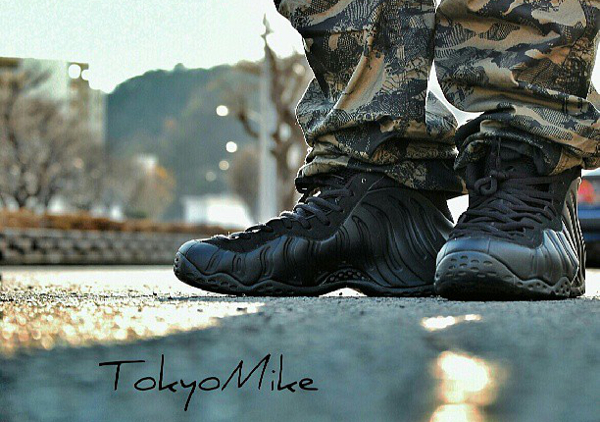 Nike Air Foamposite Stealth - Tokyomike