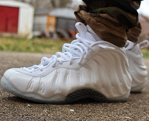 Nike Air Foamposite White - Waseem45s