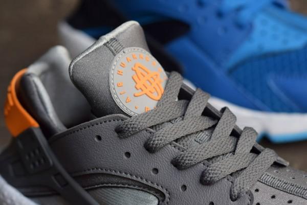 Nike Air Huarache Grey Atmic Mango (1)