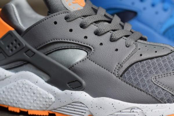 Nike Air Huarache Grey Atmic Mango (4)