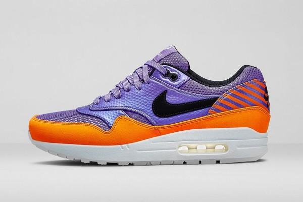Nike Air Max 1 FB Mercurial Atomic Violet Black Total Orange (2)