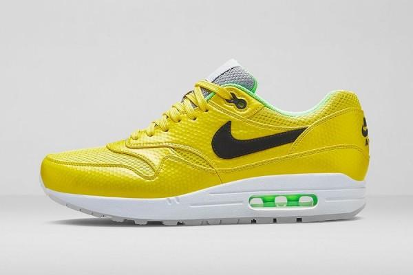 Nike Air Max 1 FB Mercurial Vibrant Yellow Black -Neolime (2)