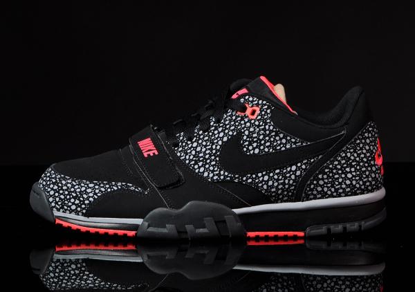 Nike Air Trainer 1 Low ST Black Laser Crimson (2)