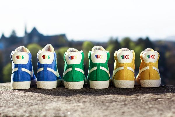 Nike Blazer Mid Vintage Rainbow talons