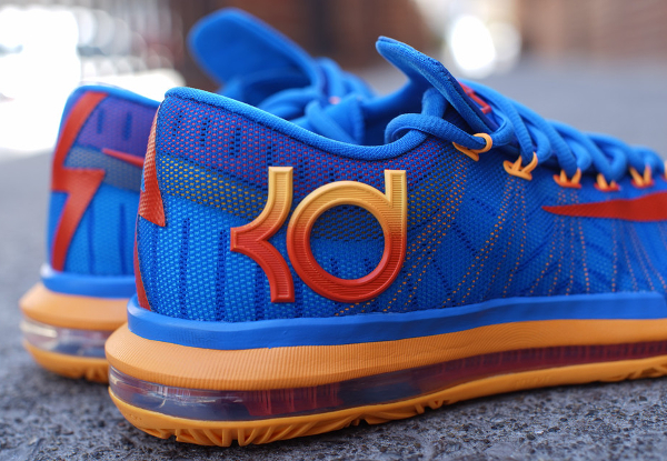 Nike KD 6 Elite Team Oklahoma Thunder (1)