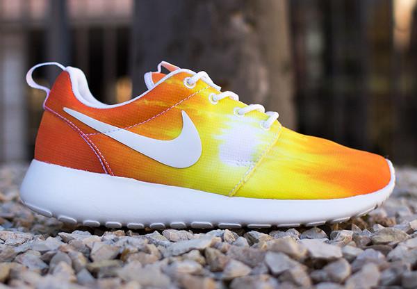 Nike Roshe Run coucher du soleil