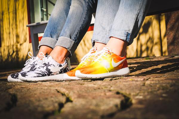 Nike Roshe Run palmiers et coucher de soleil (1)