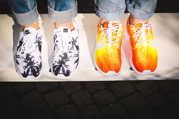 Nike Roshe Run palmiers et coucher de soleil (3)