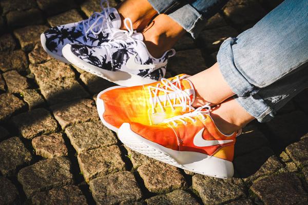 Nike Roshe Run palmiers et coucher de soleil (4)