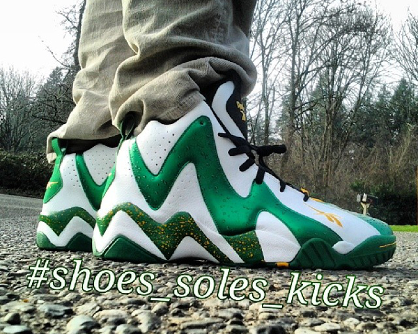 Reebok Kamikaze 2 Seattles Supersonics - Shoes_soles_kicks