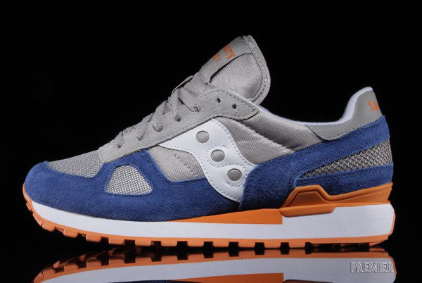 Saucony Shadow Original Grey/Orange
