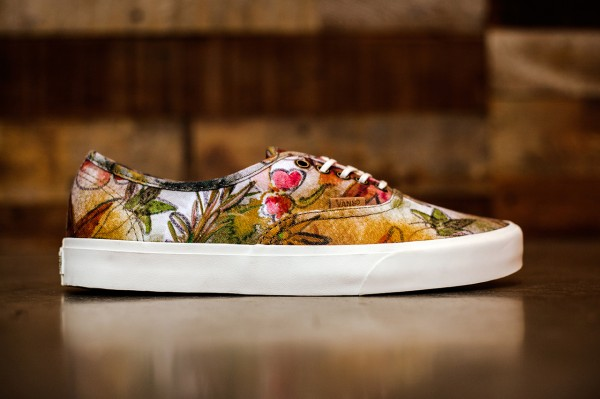 Vans California Old Skool & Authentic « Camo Floral »