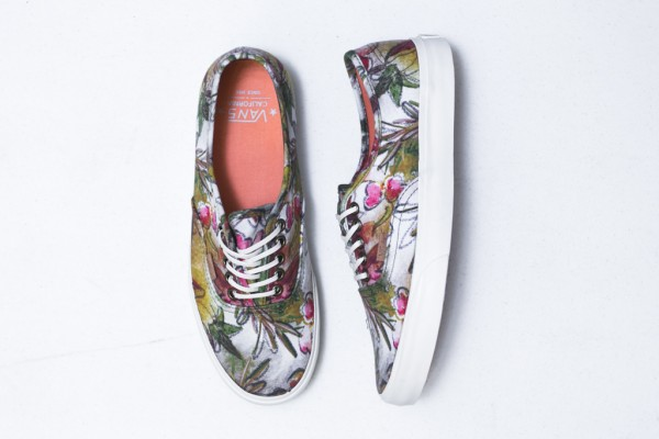 Vans California Authentic Camo Floral (2)