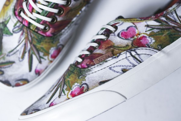 Vans California Authentic Camo Floral (4)