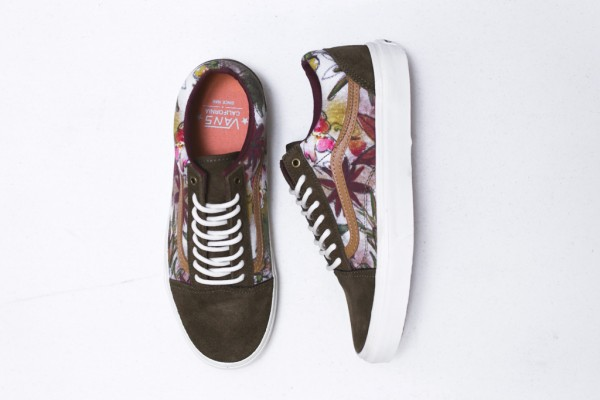 Vans California Old Skool Camo Floral (2)