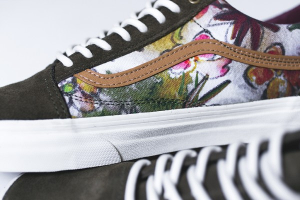Vans California Old Skool Camo Floral (4)
