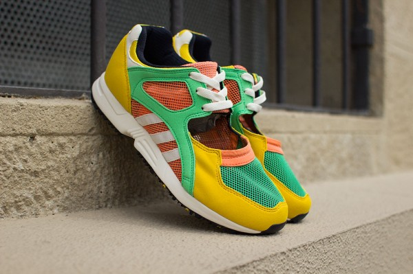 Adidas Equipment Racing Green Yellow (1)