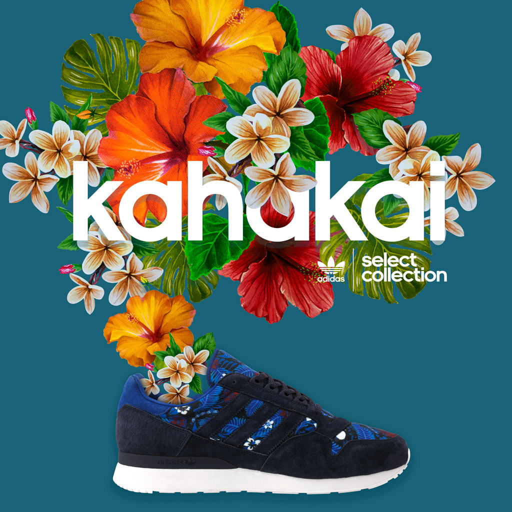 adidas fleurs