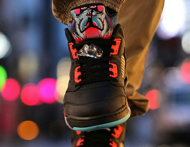 Air Jordan 5 Retro Low Chinese New Year - @bboylaspin (1)