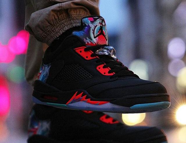 Air Jordan 5 Retro Low Chinese New Year - @bboylaspin