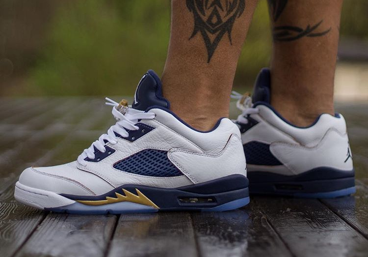 Air Jordan 5 Retro Low Dunk From Above - @zer00talent