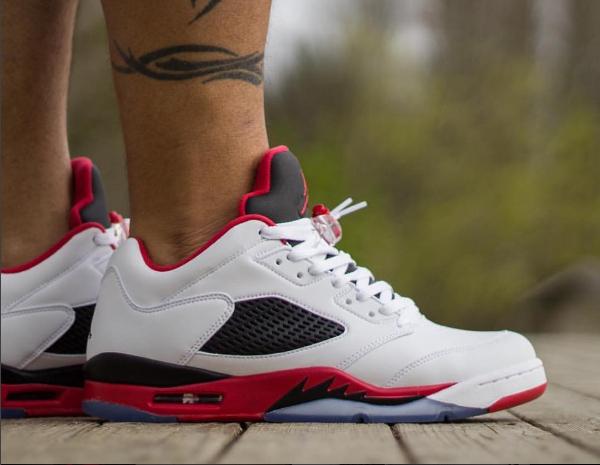 Air Jordan 5 Retro Low Fire Red - @zer00talent