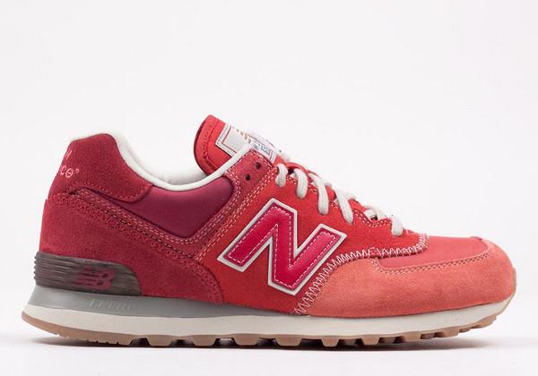 New Balance 574 Nature red