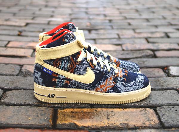 best sneakers 99aa7 3a5e2 Nike Air Force 1 High ID Pendleton - Mrkingjd-5